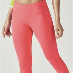 Coral fabletics leggings never worn!